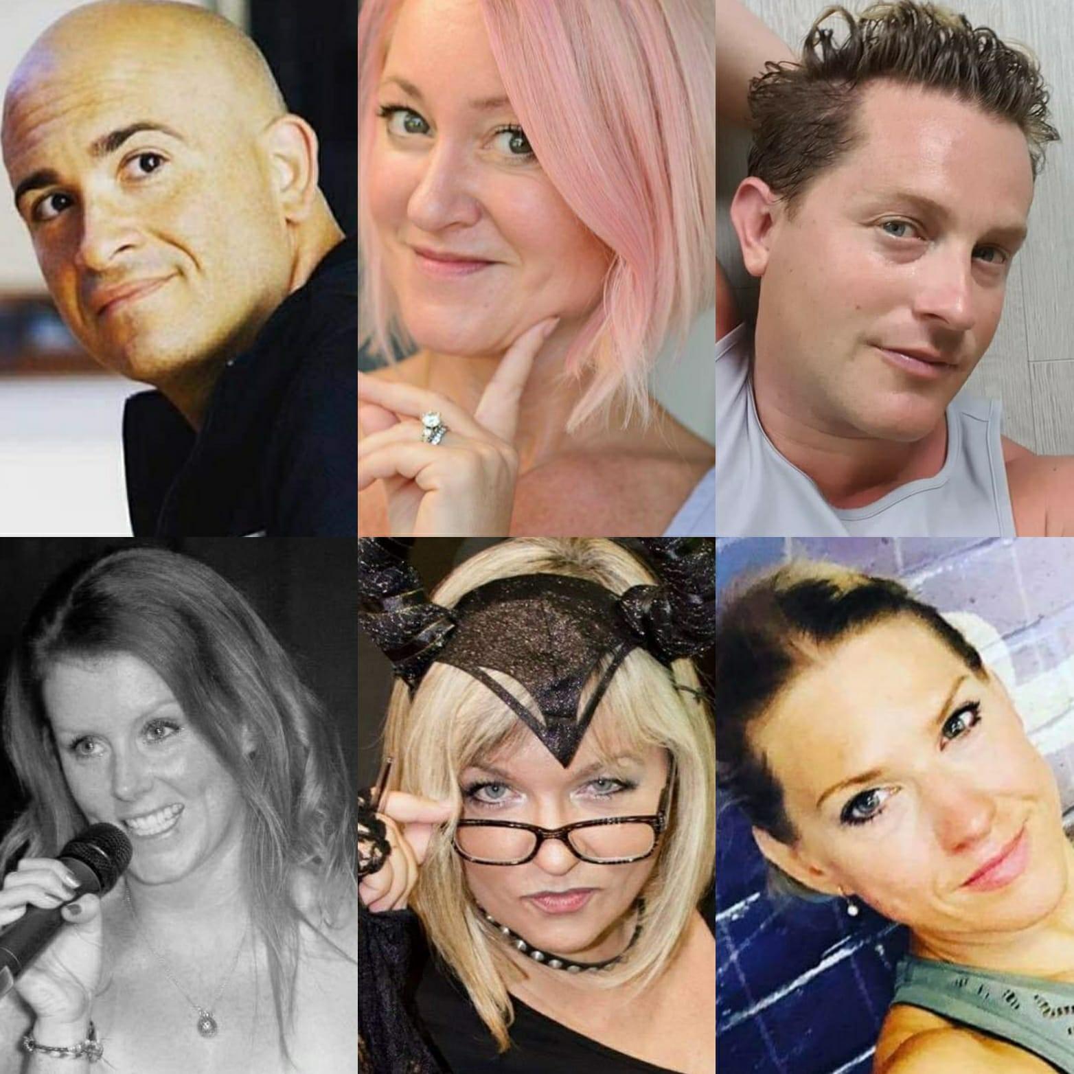 Fernando Miranda, Sarah Deeley-Porter, Glyn Page, Emma Gibbins, Helen Carpenter-Waters, Anoushka Moore