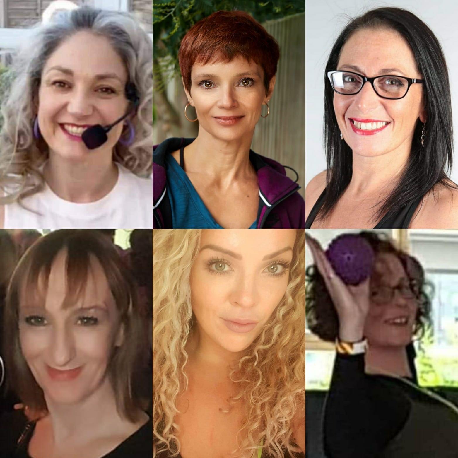 Tara Fraser, Ali Green, Sophie Burnham, Vanessa Robins-Tyers, Caroline Ash, Eileen Dixon