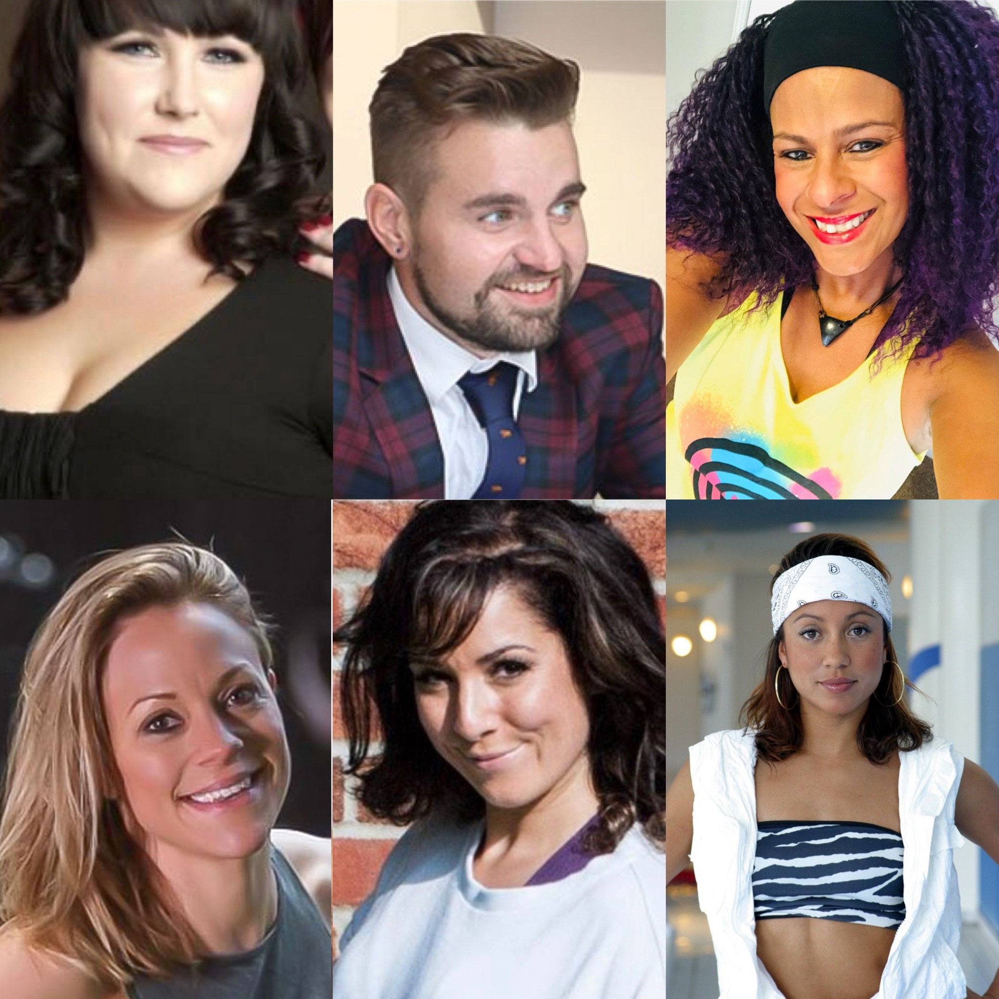 Stacey Sneddon, Ryan Graham, Sonique Smith, Anna Martin, Naomi Di Fabio, Lisa Brockwell