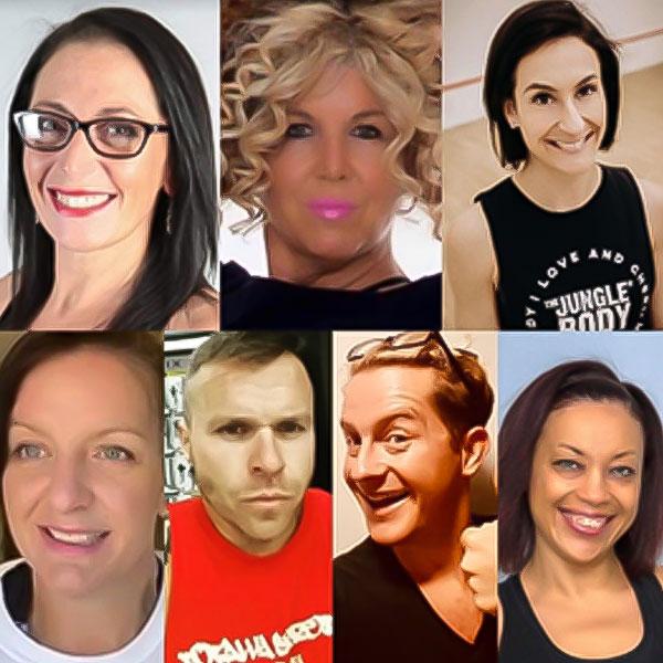 Vanessa Robbins Tyers, Helen Pybus, Amy Bobbins, Jo Ali, Dean Heitman, Glyn Page, Gina King