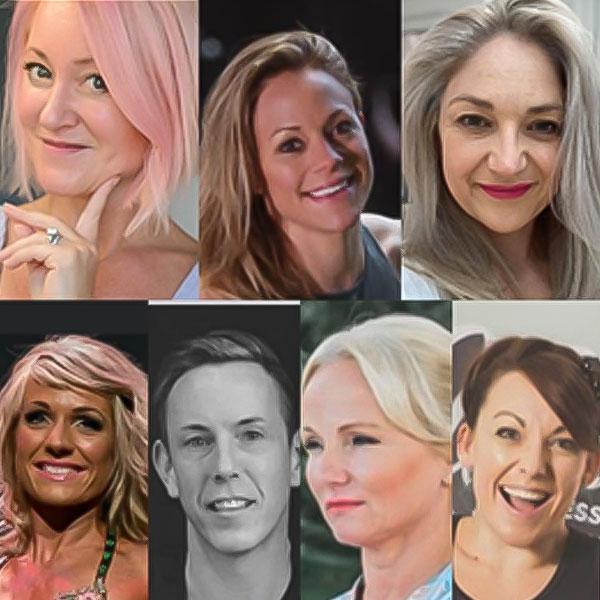 Sarah Deeley-Porter, Anna Martin, Ali Green, April Drackford, Barry Kinder, Vanessa Declerq, Emily Watson