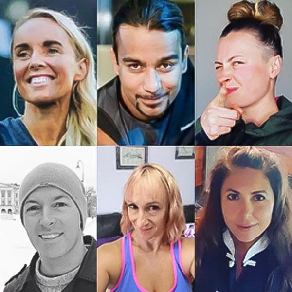 Lydia Hannan, Jairo Junior, Joanna Ewa Weintritt, Scott Miller, Caroline Ash, Linda Hall
