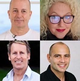 Michael King, Lydia Campbell, John Gibbons, Malcolm Muirhead