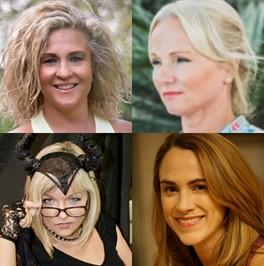 Unnur Palmars, Vanessa Declercq, Helen Carpenter Waters, Jane Wake