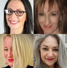 Vanessa Robbins-Tyers, Caroline Ash, Sarah Deeley Porter, Ali Green